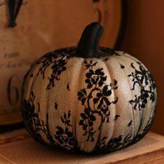 Lace pumpkin