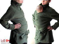 @Kym Kirouac you mentioned needing a coat, it's multi purpose