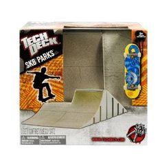 tech deck sk8parks bilevel bank obstacle - Skateboard Deckbank