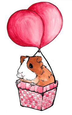 #meerschweinchen #kunst #meersau #Guinea #Pig #art No. 7 by TuckedAway