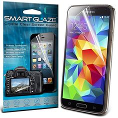 Samsung Galaxy S5 mini Pack mit 10 Schutzfolien f�r den Bildschirm mit dem Polnischen Tuch von Smart Glasur