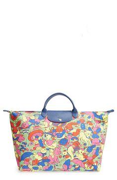 640e51fe43 Longchamp x Jeremy Scott  Le Pliage - Humpty Dumpty  Travel Bag