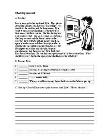 Short Stories, Writing Exercises, Grammar Worksheets, etc