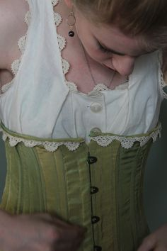 Corset by Katherine Funk
