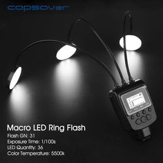 Find More Flashes Information about capsaver ML 3D Macro LED Ring Flash Light Speedlite for Pentax Canon Nikon Olympus Camera Close up Flashlight 31GN 5500K 36 LEDs,High Quality macro led,China led ring flash light Suppliers, Cheap ring flash light from capsaver Official Store on Aliexpress.com #olympuscamera