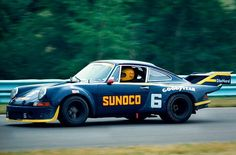 Porsche Carrera RSR prototype Watkins Glen 1973 . . Donohue/Follmer