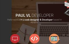 Paul vl - Good portfolio site from Paul VL out of Greece. Like the large fonts with white type on a different color palette than everyone else is using right now. Wish the work detail pieces were more than just a pop-up so you could see a little more of the quality of his work – but like the one-page site over all.