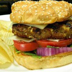 Pesto Turkey Burgers - Allrecipes.com