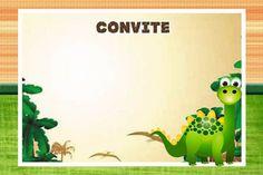 30 Convites para Festa dos Dinossauros continue vendo...