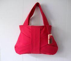KIDS  RED BAG / mini purse/ small purse / red handbag / mini bag. $26.00, via Etsy.