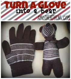 Turn a Glove into a Bear