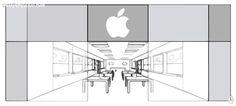 Merchandising en las Apple Store