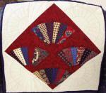 Doreen Birnie Quilt made of ties