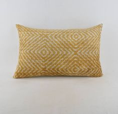 """Ikat velvet  pillow, silk cousin from Uzbekistan ,60x36 cm, 24x14"""", Cotton back with Zip closure, Dry cleaning, Decorative pillow. by KAUWA on Etsy https://www.etsy.com/uk/listing/553000094/ikat-velvet-pillow-silk-cousin-from"""