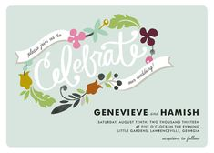 Friday Favors + New Invites from Minted