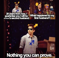 Image result for iCarly homestuck. Isn't that a line from Supernatural? Didn't Cas say that? Or was that just a fanfic I read?