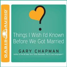 Free PDF Things I Wish I'd Known Before We Got Married Download | Free pdf books download