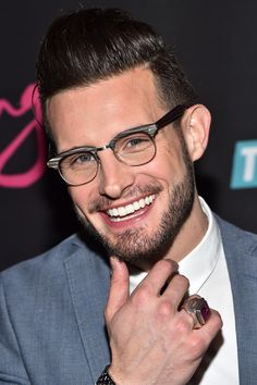 """Nico Tortorella attends the """"Younger"""" Season 2 and """"Teachers"""" Series Premiere at The NoMad Hotel on January 12, 2016 in New York City."""