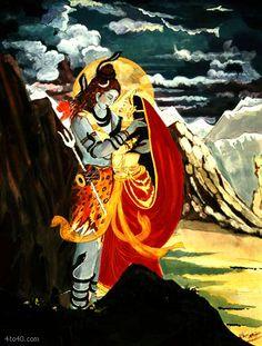 Shiv Shakti. Wishing all Happy Mahashivratri.. May Lord Shiva give u strength, happiness, luck, wealth and good health !!!