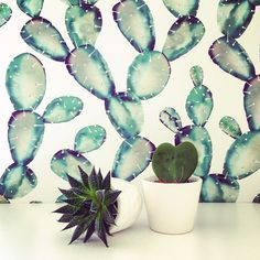Trendy Removable Wallpaper just peel and stick by Livettes on Etsy