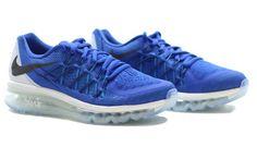 Nike Air Max 2015: Blue/White