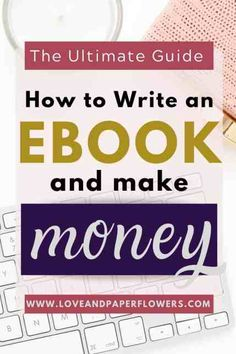 Wondering how you can make passive income? Here is a step by step guide on how to write an ebook and make money tutorial so that you can start making money from home. Earn Money Online, Make Money Blogging, Online Jobs, Saving Money, Online Income, Make Money Writing, Money Tips, Make Easy Money, Make Money From Home