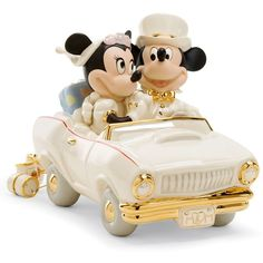 Lenox Collectible Disney Figurine Mickey Mouse and Friends Minnie's... ($119) ❤ liked on Polyvore featuring disney