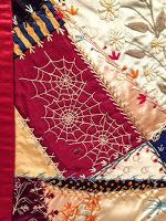 Telling Stories Through the Needle's Eye: American Crazy Quilt Exhibit at the Baltimore Museum of Art