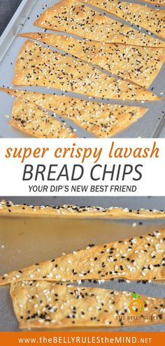 Crispy Lavash bread chips are your dip's new best friend. Lavash bread chips can handle scooping up creamy hummus or other thick dips.  A little crunchy and super flavorful, they are super easy to make. This recipe is a perfect snack to share with your friends and family. #snacks #healthysnacks Lavash Crackers Recipe, Homemade Crackers, Appetizer Recipes, Snack Recipes, Appetizers, Banana Chips, Hummus Recipe, Finger Foods, Food Videos