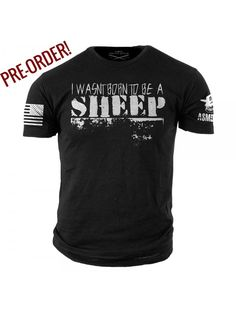 Wasn't Born to be a Sheep