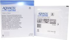 New and Improved AQUACEL EXTRA Hydrofiber dressing 6 x 6 Box of 5 dressings *** Check out the image by visiting the link.(It is an affiliate link and I receive commission through sales)