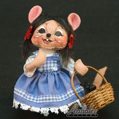 Annalee Wizard of Oz Dorothy Mouse 2008 - Annalee Gallery