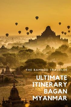 As of July 2019 the ancient ruins of Bagan are now a World Heritage Site. Read about how to visit this amazing destination in this 2019 Bagan itinerary and travel guide. hotel restaurant travel tips tour Tips Travel Myanmar Travel, Asia Travel, Solo Travel, Travel Packing, Florida Travel, Packing Cubes, Croatia Travel, Beach Travel, Hawaii Travel