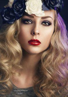 Model: Sarah Stepanek   Makeup & Hair: Mikala Jean Vandenbroucke   Photo & Post: Julia Kuzmenko | Visual Artist
