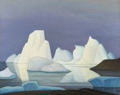 Lawren Harris | Grounded Iceberg (Disco Bay), c.1932 | Oil on canvas, 80.0 x 101.6 cm, © Art Gallery of Ontario