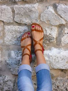 Gladiator Sandals - 100 Gorgeous Shoes From Pinterest For S/S2014 - Style Estate - http://blog.styleestate.com/style-estate-blog/100-gorgeous-shoes-from-pinterest-for-ss-2014.html