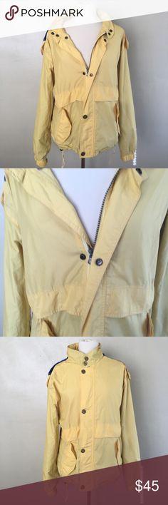 Vintage 80s/90s Unisex Woolaich Raincoat Men's Medium Unisex Rain Coat 100% Nylon/Polyamide Made Hong Kong Vintage Jackets & Coats