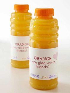 orange you glad were friends   Orange you glad we're friends??? by nikki