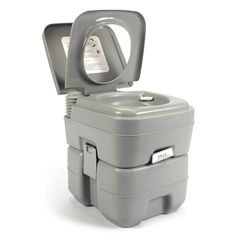This is a 5 gallon, portable toilet/potty that will enable you to totally enjoy camping, construction, outdoor recreational activities and traveling on vehicles without worrying about where to let go