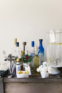 Styling a Spring Bar Cart