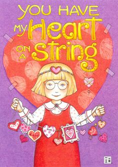Heart on a String (Mary E. of course_