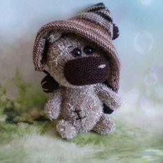 Amigurumi Stuffed Toy Fun Sweet Bear Crochet Knitted Miniature