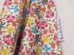 Couverture nomade Fleurs multicolores €20.00
