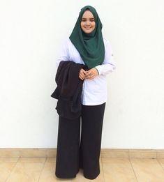 hijabi binor #masakini Muslim Fashion, Hijab Fashion, Hijab Tutorial, Hijab Outfit, Outfits, Style, Swag, Suits, Hijabs