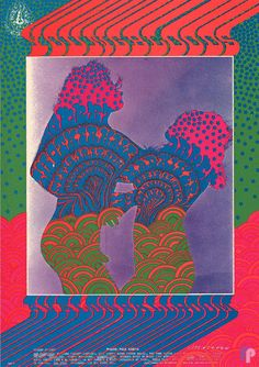 Classic Poster - Youngbloods at Avalon Ballroom 9/15-17/67 by Victor Moscoso & Paul Kagan