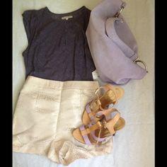 Spotted while shopping on Poshmark: Dooney&Bourke lavender hand bag! #poshmark #fashion #shopping #style #Dooney & Bourke #Handbags