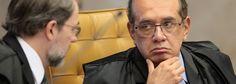 IMPUNIDADE: Gilmar vai relatar processo contra Aécio Neves. Toffoli, contra Cunha  #golpistasday