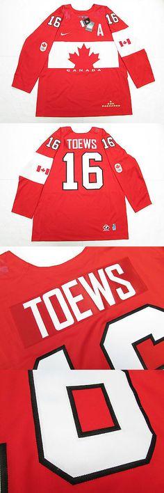 Hockey-Team Canada 2868: Jonathan Toews Team Canada Red Sochi 2014 Olympics Nike Hockey Jersey -> BUY IT NOW ONLY: $224.99 on eBay!