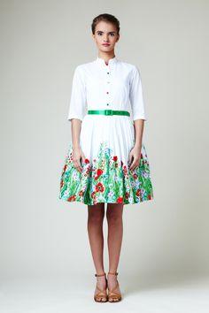 Porque con este vestido estaría preciosa :D