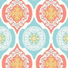 Shop Graceful Castle fabric by Cassie Gorvetzian at WeaveUp - custom fabric